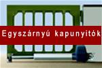Kétszárnyú kapunyitó